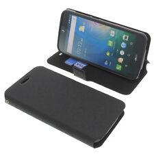 Custodia Per Acer Liquid Z630 a Libro + Pellicola Cellulare Nera