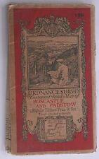Rare Boscastle & Padstow Cloth Ordnance Survey Map 1927 Sheet 136