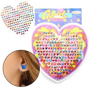 31PCS Girl new sticker ear sticker Toy Body Bag New Party Jewelry sticker Gift