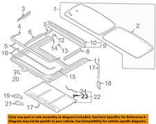 VOLVO OEM 01-09 S60 Sunroof-Sunshade Guide 9483170