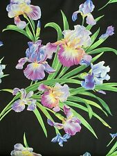Michael Miller Floral Fabric PRIMAVERA IRIS Fabric- yards