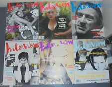 ANDY WARHOL INTERVIEW Magazine LOT 1993 DENIRO STREISAND RAQUEL WELCH ROSIE PERE