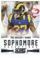 2015 Panini Score Football Sophomore Selections RC #9 Tre Mason Rams