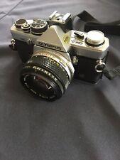 Olympus OM-2N 35mm SLR Film Camera With Olympus OM Zuiko Lens