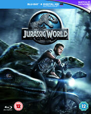 Jurassic World Blu-ray 2015 Region Chris Pratt Bryce Dallas Howard
