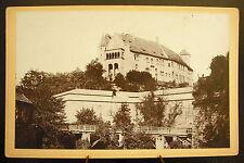Photo c 1900 Abbaye, à déterminer ??  Photographie ancienne