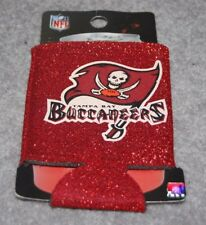 TAMPA BAY BUCCANERS NFL FOOTBALL SPORTS CAN COOLER HOLDER GLITTER