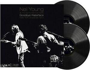 NEIL YOUNG & SANTA MONICA FLYERS Goodbye Waterface (2020) vinyl 2-LP NEW/SEALED