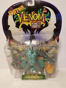 Lasher Venom Planet of the Symbiotes ToyBiz Action Figure Spider-Man Marvel 1996