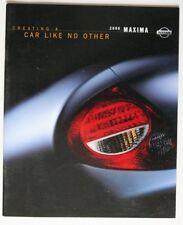 NISSAN MAXIMA 2000 dealer brochure - English - Canada - ST2003000918