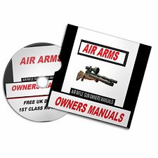 AIR ARMS  AIRGUN AIR RIFLE GUN OWNERS MANUAL  USER  BOOKS Disc #Airrifle