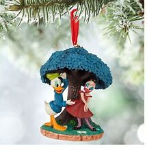 Disney Authentic Donald & Daisy Duck Classic Cartoon 2015 Christmas Ornament NWT