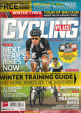 NEW! CYCLING PLUS UK 282 December 2013 Bike Riding Tips + Winter TRAINING GUIDE