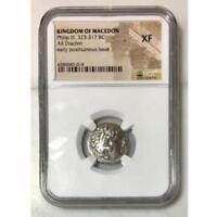 Kingdom of Macedon Philip III, 323-317 BC NGC XF ***Rev Tye's*** #0014166