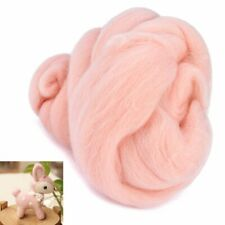 50g Wool Fiber Roving Dyed Felt Needle Felting Spinning Handmade Crafts Tools