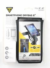 "New Topeak Smartphone Bag & Mount Drybag 5-6"" Screens Black Art No.TT9840B"