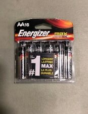 Energizer Max Premium AA Batteries, Alkaline Double A Battery (16 Count)