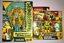 Transformers BUZZWORTHY BUMBLEBEE STUDIO SERIES + WAR FOR CYBERTRON **NEW**