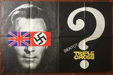 Affiche TRIPLE CROSS Christopher Plummer ROMY SCHNEIDER WWII 80x120cm