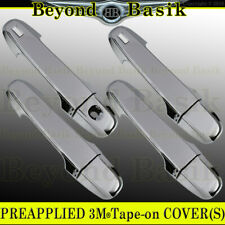 For 2012-2017 Toyota Camry CHROME Door Handle Covers W/2 Smart Keyholes No PSKH
