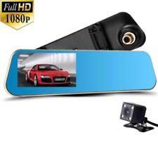 "4.3"" 1080P HD DVR Video Recorder Rearview Mirror In Car CCTV Reversing Dash Cam"