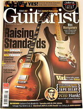 GUITARIST MAGAZINE August 2012 Gibson Les Paul Fender Steve Vai Hank Marvin MXR