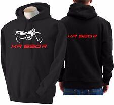 Felpa per moto Honda XR 650R hoodie sweatshirt bike hoody sweater XR 650 R