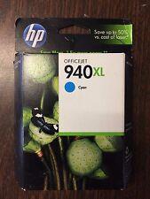 Genuine HP 940XL  Cyan Ink Cartridge C4907AN Sealed