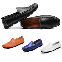 Fashion causal moccasins breathable loafers men shoes slip on leather driving