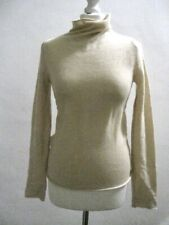 MARNI Off-White 100% Cashmere Hi- Neck Jumper IT42 (UK10) Fab Condition!