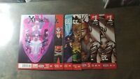 X-Force vol. 4 #1,2,3,4,5,6 (2 copies #1)NM IMO cable - si spurrier - marvel set