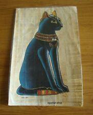 Egyptian  PAPYRUS  GODDESS BASTET -.Pharaonic - #205