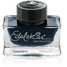50ml Bottle Pelikan Edelstein Fountain Pen Ink, TANZANITE (Blue/Black)