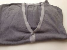 Primark Grey Cardigan Size Small Button Down