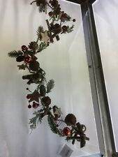 Heaven Sends Woodland Style Frosty Christmas Garland  1 Meter - 867