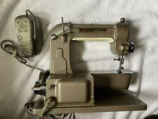 Vintage Free Westinghouse Portable Sewing Machine, Case & Accessories