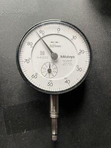 Mitutoyo 2046 S/F Messuhr Bereich 0-10mm in 0,01mm