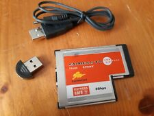2 Ports Hub USB 3.0 PCI Express Card Adapter 54mm Slot Converter plus bluetooth