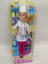 Barbie Careers Chef Doll with mild package damage
