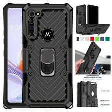 For Motorola Moto G Stylus E 2020 Case Rugged Armor Shockproof Kickstand Cover