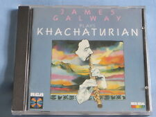 JAMES GALWAY Plays Khachaturian (CD 1985) RCA RED SEAL RD87010