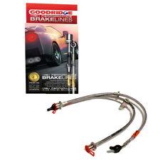 GOODRIDGE G-STOP STAINLESS STEEL BRAKE LINE KIT 92-95 HONDA CIVIC W/ REAR DRUM