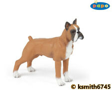 Papo BOXER solid plastic toy farm pet animal DOG 💥
