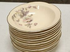 SET OF 4 RARE VINTAGE AMERICAN CHINAWARE DINNERWARE SOUP CEREAL BOWLS