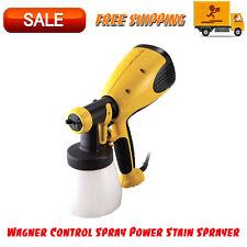 Wagner Control Spray Power Stain Sprayer, 3 Spray Patterns, Sprays Up To 4.1 Oz.