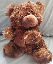 "Chosun Int'l Super Soft Dark Brown Teddy Bear stuffed/plush - 11"""