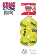 Kong Airdog Squeakair Dog Tennis Balls MEDIUM Squeak & Fetch, pack of 6