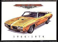 PONTIAC GTO (1964-74) Collectors Card Series - The original American muscle car