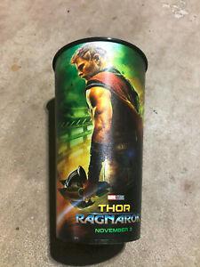 Thor Ragnarok 44oz Plastic Souvenir Cup from premiere November 3, 2017
