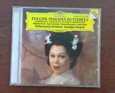 Puccini Madama Butterfly Highlights Freni Carreras Pons Sinopoli DG